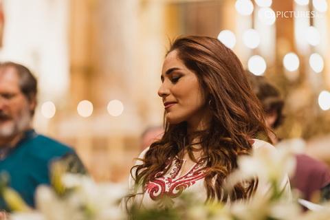 Abeer Nehme fellépése a zent Efrém Férfikarral az ortodox karácsonyi koncerten. Rendezvény Magazin 2020.