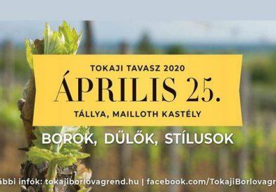 Tállyán köszönti a Tokaji Tavaszt a Tokaji Borlovagrend