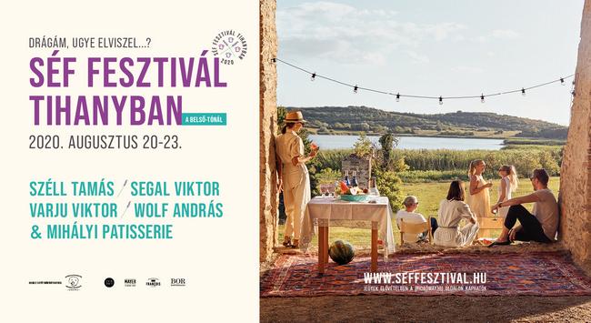 Első Tihanyi Séf Fesztivál 2020. Rendezvény Magazin 2020.