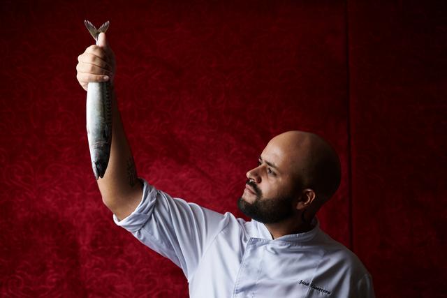 José Guerrera kreatív chef. Golden Season az Arany Kaviár Étteremben. Rendezvény Magazin 2020.